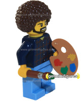 LEGO FAMOUS PAINTER guy