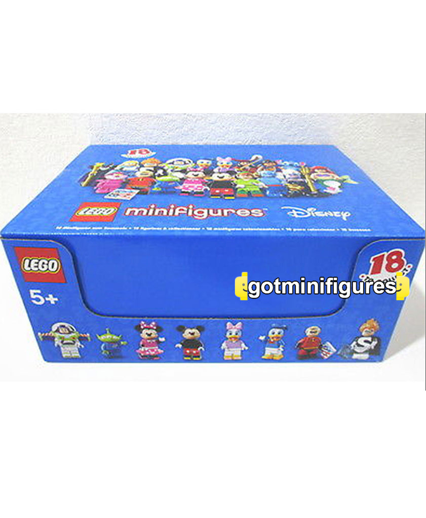 LEGO DISNEY - BOX/CASE SEALED of 60 minifigures #71012