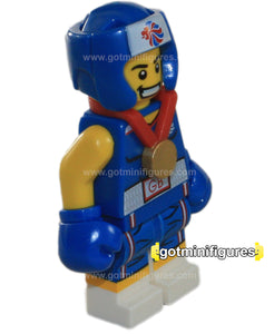 LEGO Olympic BRAWNY BOXER Team GB  minifigure  8909
