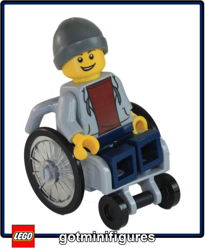 LEGO City Fun in the Park BOY IN WHEELCHAIR 60134 minifigure