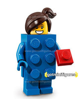 Series 18 LEGO BRICK SUIT GIRL minifigure 71021