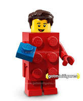 Series 18 LEGO BRICK SUIT GUY minifigure 71021
