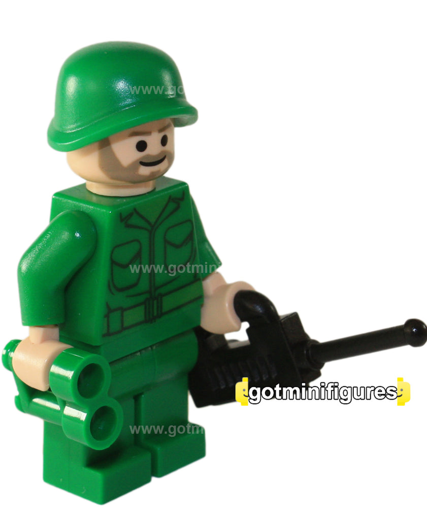 LEGO ARMY CAPTAIN minifigure