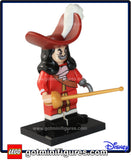 LEGO DISNEY - CAPTAIN HOOK- (#16)  minifigure #71012
