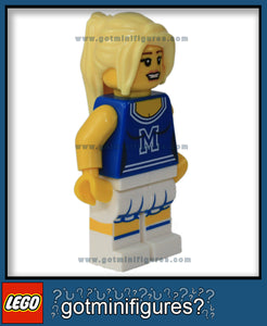 Series 1 LEGO CHEERLEADER minifigure (No Pom Pom's) 8683