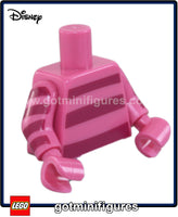LEGO - TORSO (Dark pink w/ Magenta stripes, Cheshire Cat) for minifigure