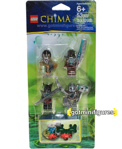 LEGO CHIMA BATTLE PACK - (A) 4 minifigures