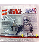LEGO Star Wars CHROME STORMTROOPER minifigure SEALED RARE polybag BRAND NEW
