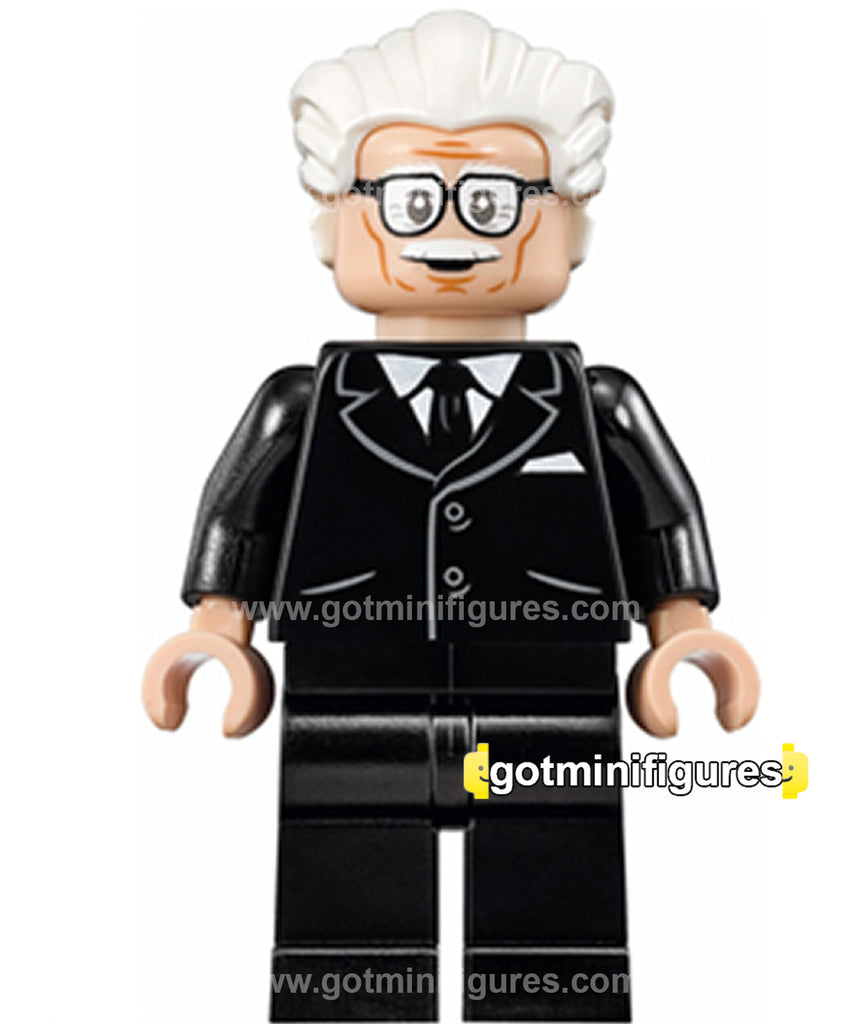 "LEGO DC Super Heroes ALFRED PENNYWORTH ""Classic TV Series"" minifigure #76052"