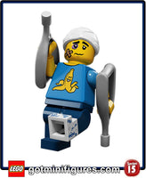 Series 15 LEGO - CLUMSY GUY - minifigure #71011