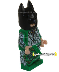The Lego BATMAN Movie DOLLAR BILL TUXEDO Batman minifigure TRU #5004939