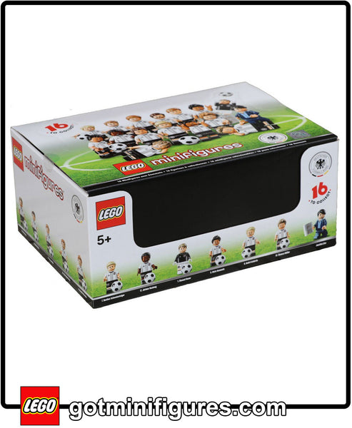 LEGO DFB German National Soccer TEAM (Sealed Box of 60) Carton minifigures #71014