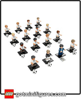 LEGO DFB German National Soccer TEAM (Set of 16) minifigures #71014