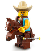 Series 18 LEGO COWBOY COSTUME GUY minifigure 71021