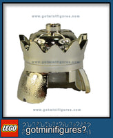 LEGO CROWN GOLD headgear for minifigure