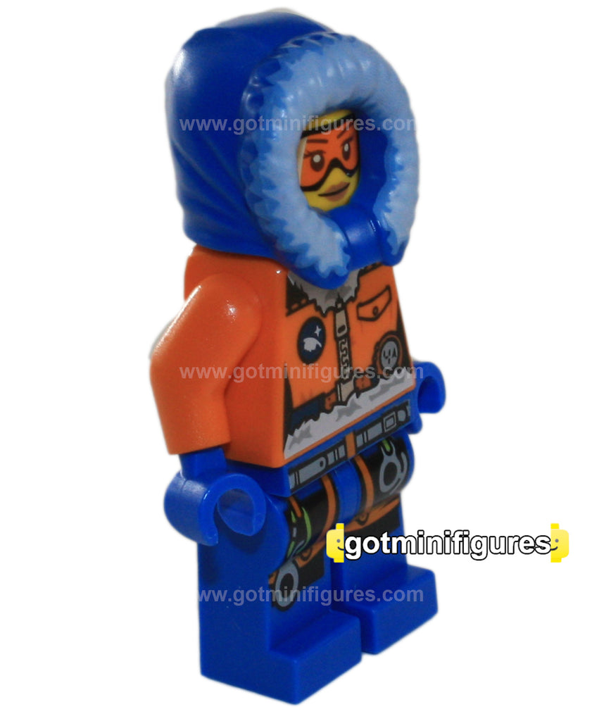 LEGO City ARCTIC EXPLORER (Female) minifigure 60036