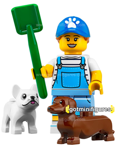 Series 19 LEGO DOG SITTER minifigure #71025