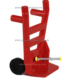 LEGO HAND TRUCK Red (Dolly) for minifigure
