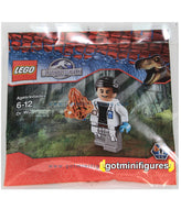 LEGO JURASSIC WORLD - DR WU SEALED POLYBAG Exclusive minifigure