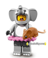 Series 18 LEGO ELEPHANT COSTUME GIRL minifigure 71021