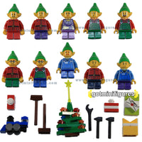 LEGO Christmas - ELVES  - xmas toys LOT A elf minifigures