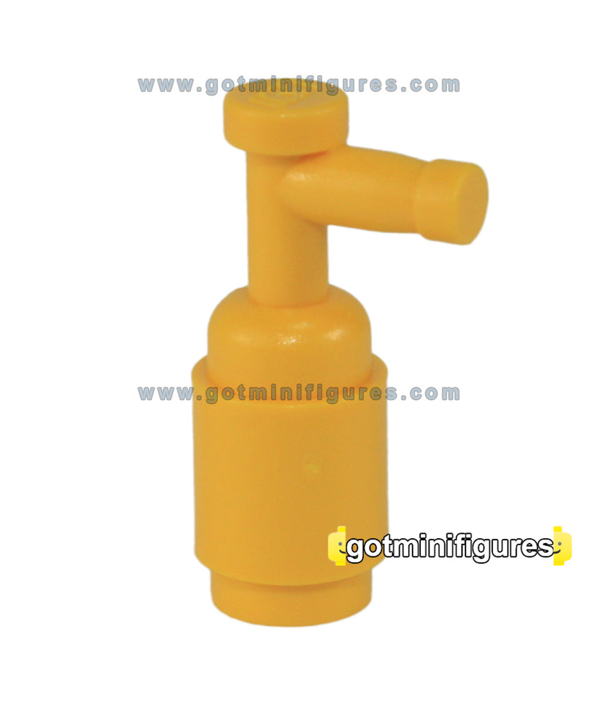 LEGO YELLOW FIRE EXTINGUISHER for minifigure