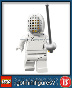 LEGO SERIES 13 FENCER minifigure #71008