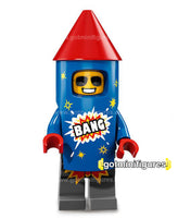 Series 18 LEGO FIREWORK GUY minifigure 71021
