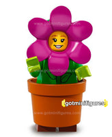Series 18 LEGO FLOWERPOT GIRL minifigure 71021