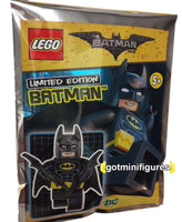 The Lego BATMAN Movie DC foil BATMAN sealed polybag minifigure #211701