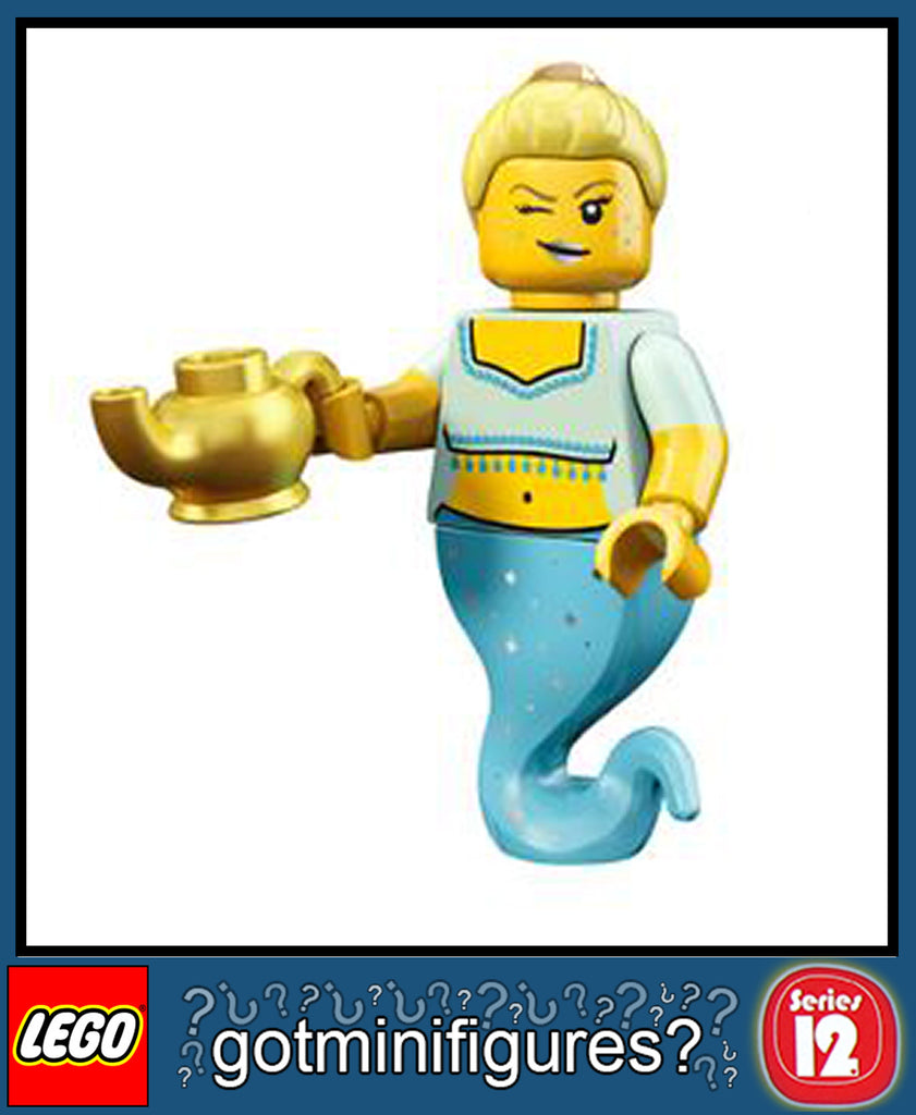 LEGO SERIES 12 GENIE GIRL minifigure #71007