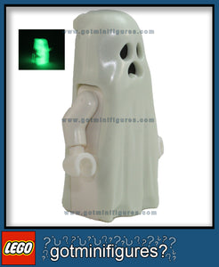 LEGO GHOST (glow in the dark) minifigure