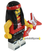 LEGO® The Ninjago Movie GONG AND GUITAR ROCKER CMF minifigure 71019 BRAND NEW