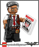 The Lego BATMAN Movie COMMISSIONER GORDON minifigure #71017