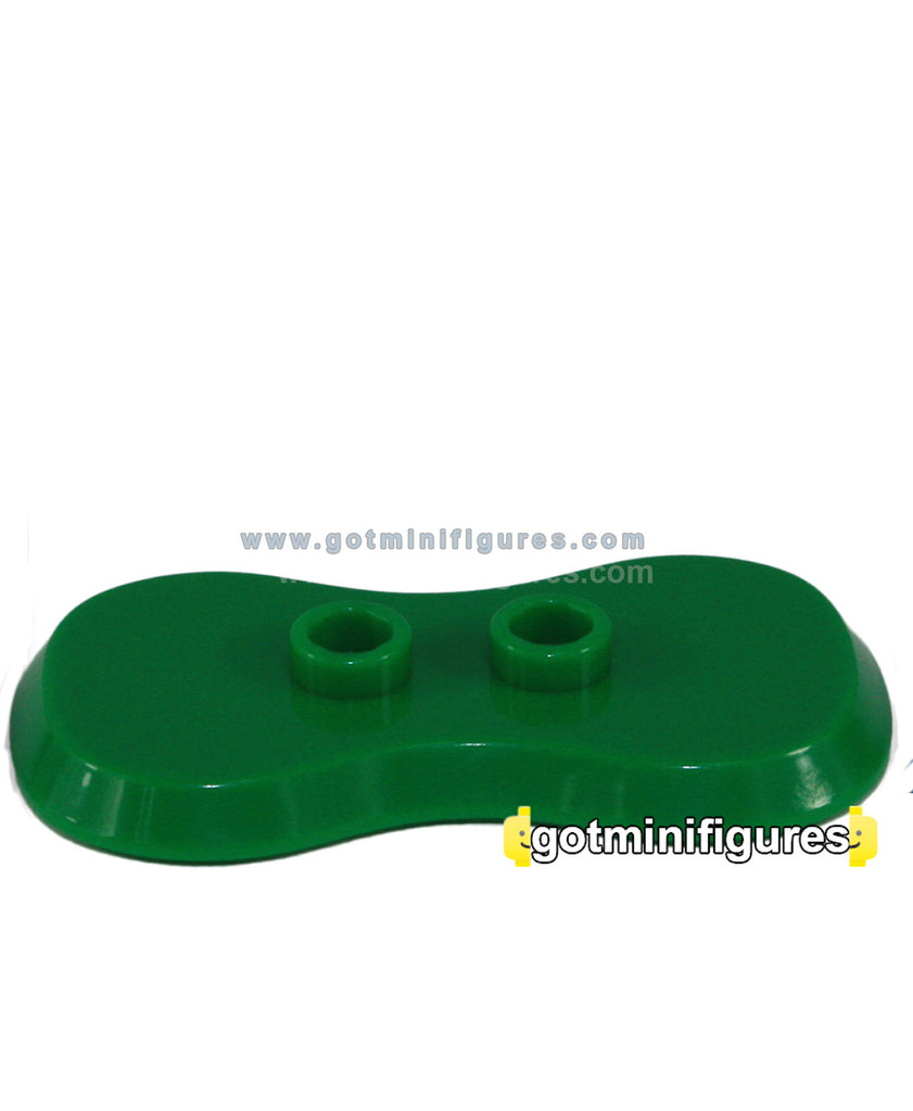 LEGO ARMY Minifigure Green BASE PLATE minifig stand