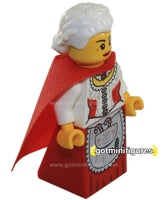 LEGO Christmas MRS. CLAUS Santa's Workshop minifigure #10245