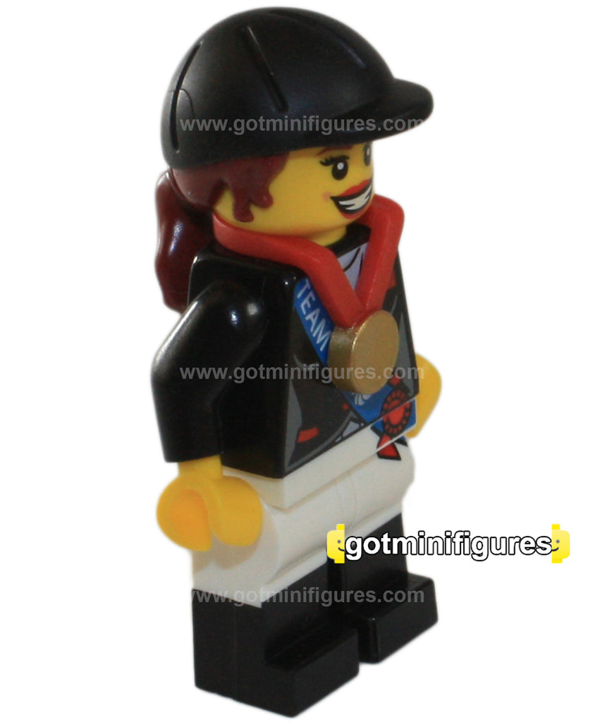 LEGO Olympic  EQUESTRIAN Team GB  minifigure  8909