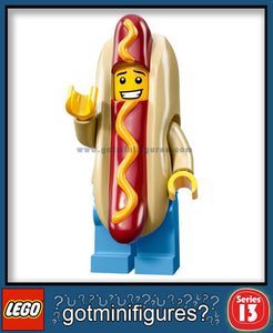 LEGO SERIES 13 HOT DOG MAN minifigure #71008
