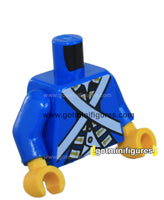 LEGO - TORSO Blue coat white, gold, Imperial Soldier, style 03