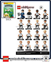 LEGO DFB German National Soccer TEAM- INSTRUCTION pamphlet poster minifigures #71014