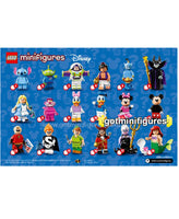 LEGO DISNEY - INSTRUCTION pamphlet poster minifigures #71012