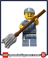Series 15 LEGO - JANITOR - minifigure #71011