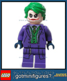 "LEGO DC Super Heroes JOKER ""Heath Ledger"" minifigure #76023"