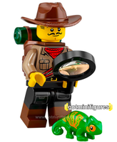Series 19 LEGO JUNGLE EXPLORER minifigure #71025