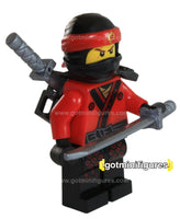 LEGO® The Ninjago Movie KAI red ninja minifigure 70618