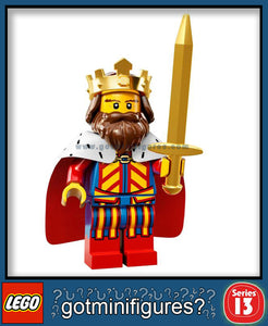 LEGO SERIES 13 KING minifigure #71008