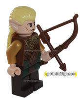 LEGO The Hobbit LEGOLAS GREENLEAF minifigure 79017