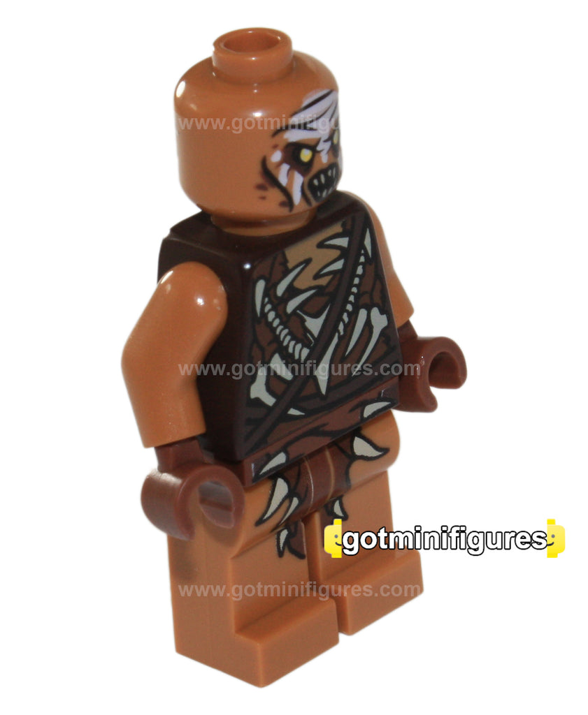 LEGO The Hobbit GUNDABAD ORC (White) minifigure 79017
