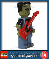 LEGO SERIES 14 - MONSTER ROCKER - Monsters minifigure #71010