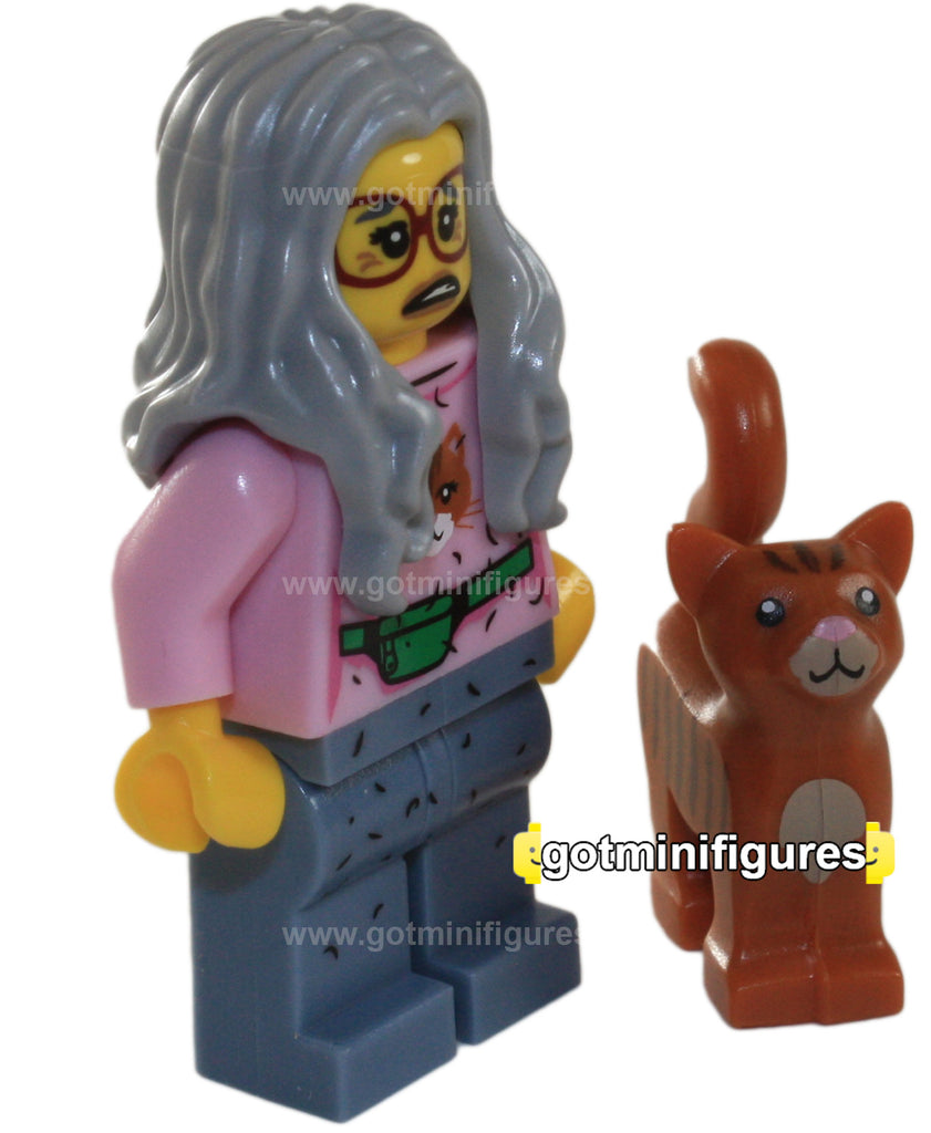 The LEGO MOVIE Series - MRS. SCRATCHEN-POST - orange cat minifigure NEW 71004